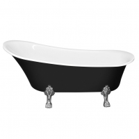 NT Bathroom NT 15 black Addax Ванна отдельностоящая 176x71